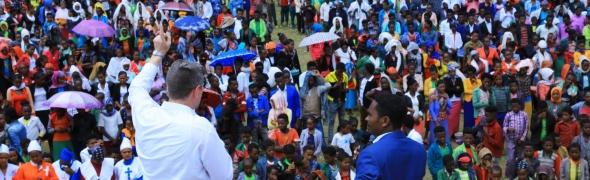 Äthiopien – aufgeweichter Boden