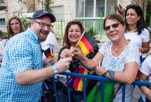 Christen feiern 40. ICEJ-Laubhüttenfest in Jerusalem